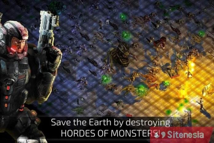Gambar Gameplay Alien Shooter 2 The Legend APK Terbaru Untuk Android Download Baru