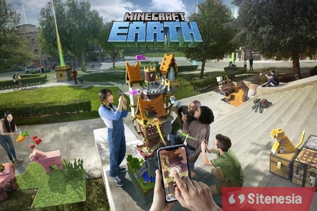 Gambar Cover Game Download Minecraft Earth Versi Terbaru Gratis Untuk Android