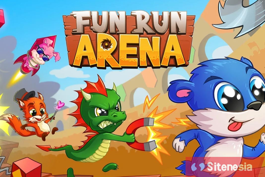 Gambar Cover Game Download Fun Run 3 Arena MOD APK Versi Terbaru God Mode Gratis Untuk Android