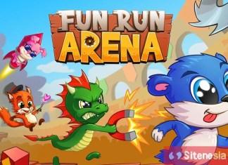 Gambar Cover Game Download Fun Run 3 Arena MOD APK Versi Terbaru God Mode Gratis Untuk Android