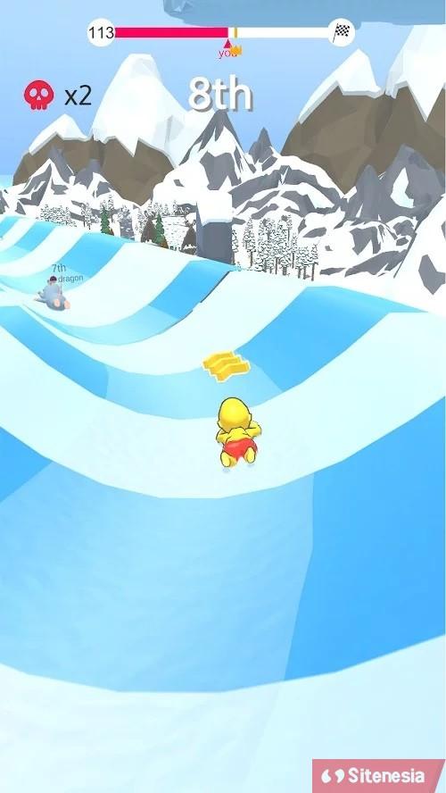 Gambar Gameplay Download Aquapark.io MOD APK Versi Terbaru Unlimited Money Uang Tak Terbatas Dan No Ads Gratis Untuk Android