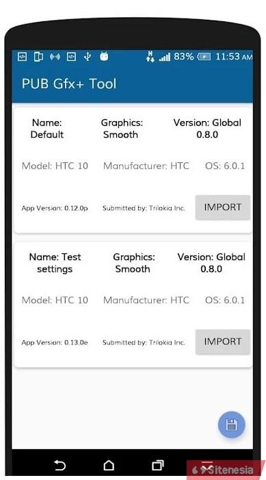 Gambar Screenshoot Aplikasi Download PUB GFX+ Tool APK Versi Terbaru Plus Version NOLAG NOBAN With Advanced Settings Gratis Untuk Android