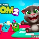 Gambar Cover Download My Talking TOM 2 MOD APK Versi Terbaru Unlimited Coins Dan Stars Untuk Android Baru