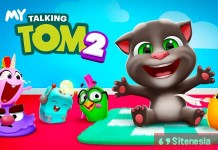 Gambar Cover Download My Talking TOM 2 MOD APK Versi Terbaru Unlimited Money Hack Gratis Untuk Android