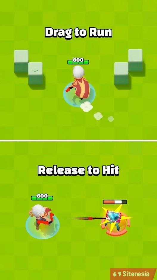 Gambar Gameplay Game Download Archero MOD APK Versi Terbaru High Damage God Mode Gratis Untuk Android