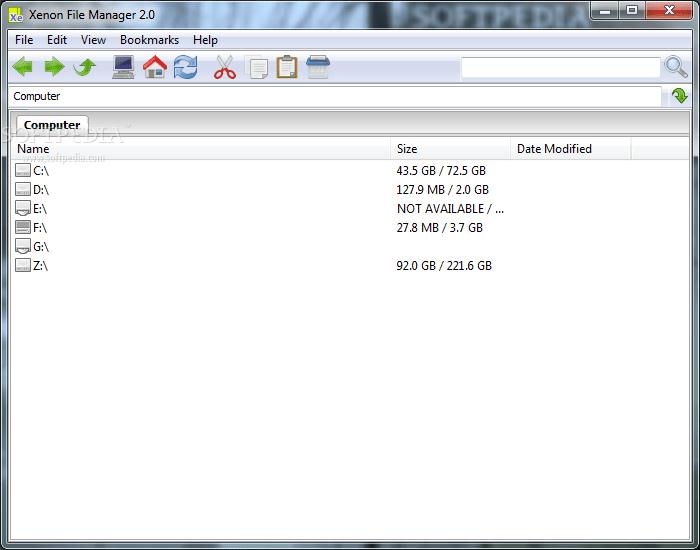Portable Xenon File Manager