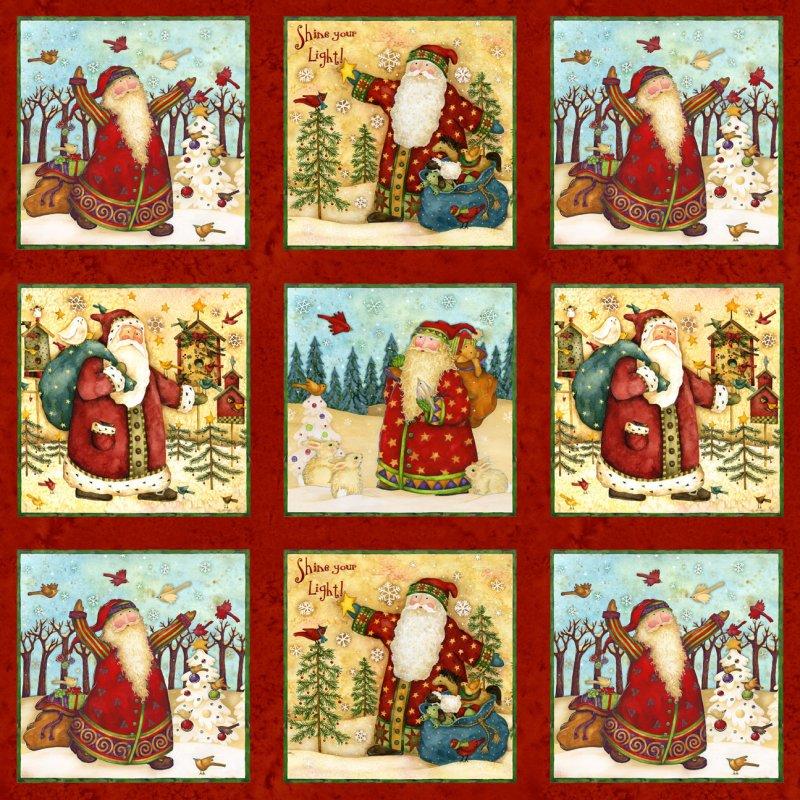 Santas Journey By Debbie Hron For SPX Fabrics