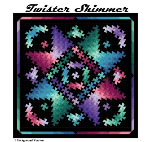 Twister Shimmer Quilt Pattern