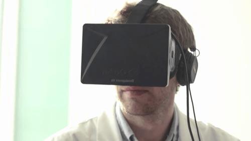 Opération en réalité virutelle 3D avec Oculus Rift