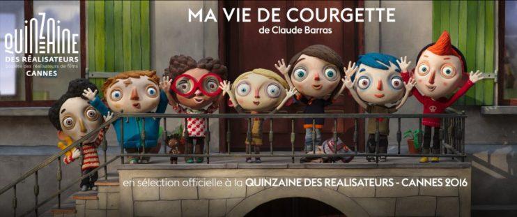 Bandeau du film d'animation Ma vie de Courgette,