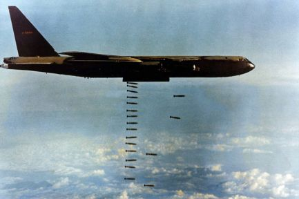 Image result for 1972 –President Richard Nixon announces that the United States will engage North Vietnam in Operation Linebacker II, a series of Christmas bombings, after peace talks collapsed with North Vietnam on the 13th