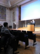 Conference opening in Aulaen