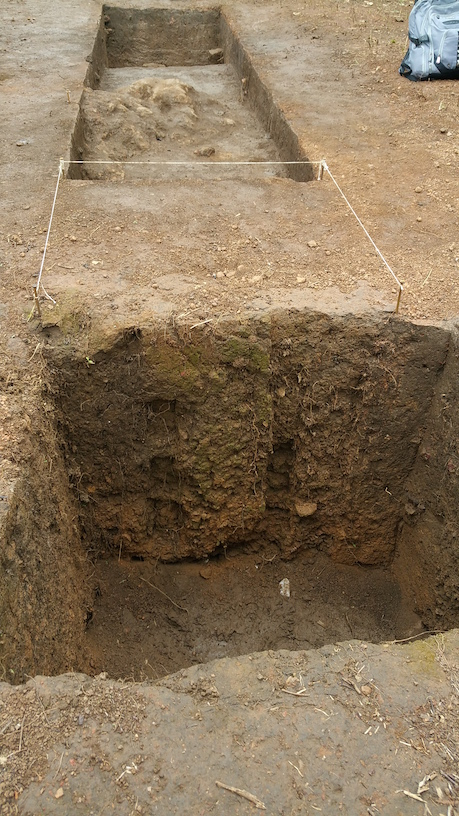 TPI trench - 6000 Years old