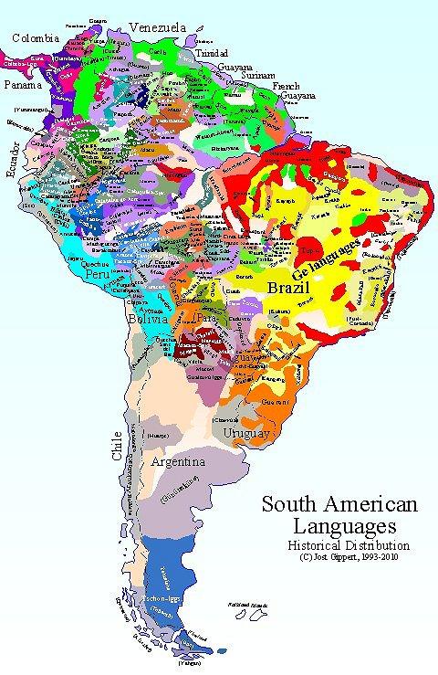 Languages of the Amazon