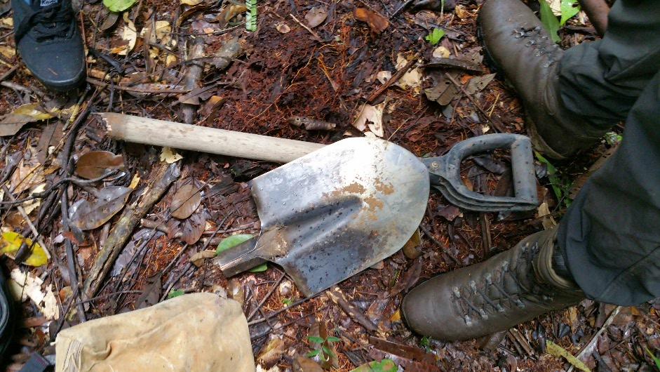 Brocken spade