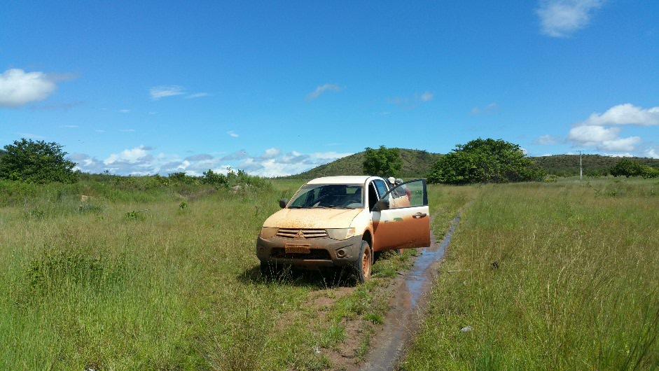 One well used van