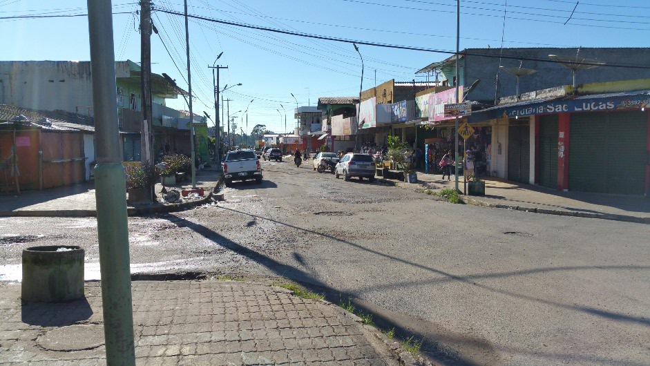 Main Street Pacaraima
