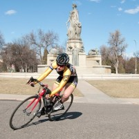 Hayley Bates' 18 competes on CC Cycling Team