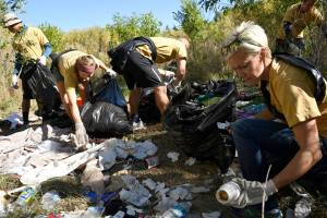 Creek clean up in 2016