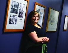 Jessie Randall is the Archivist and Curator of the Tutt Library Special Collections.