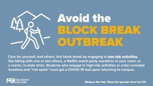 Avoid Block Break Outbreak Graphic