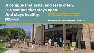 Campus That Tests Stays Healthy