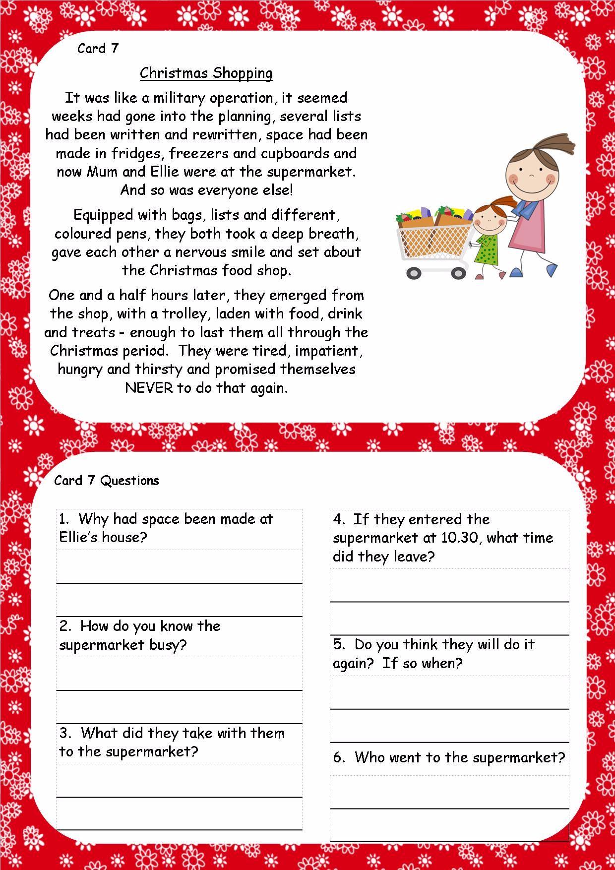 KS1 KS2 SEN IPC Christmas SPAG Activity Booklets