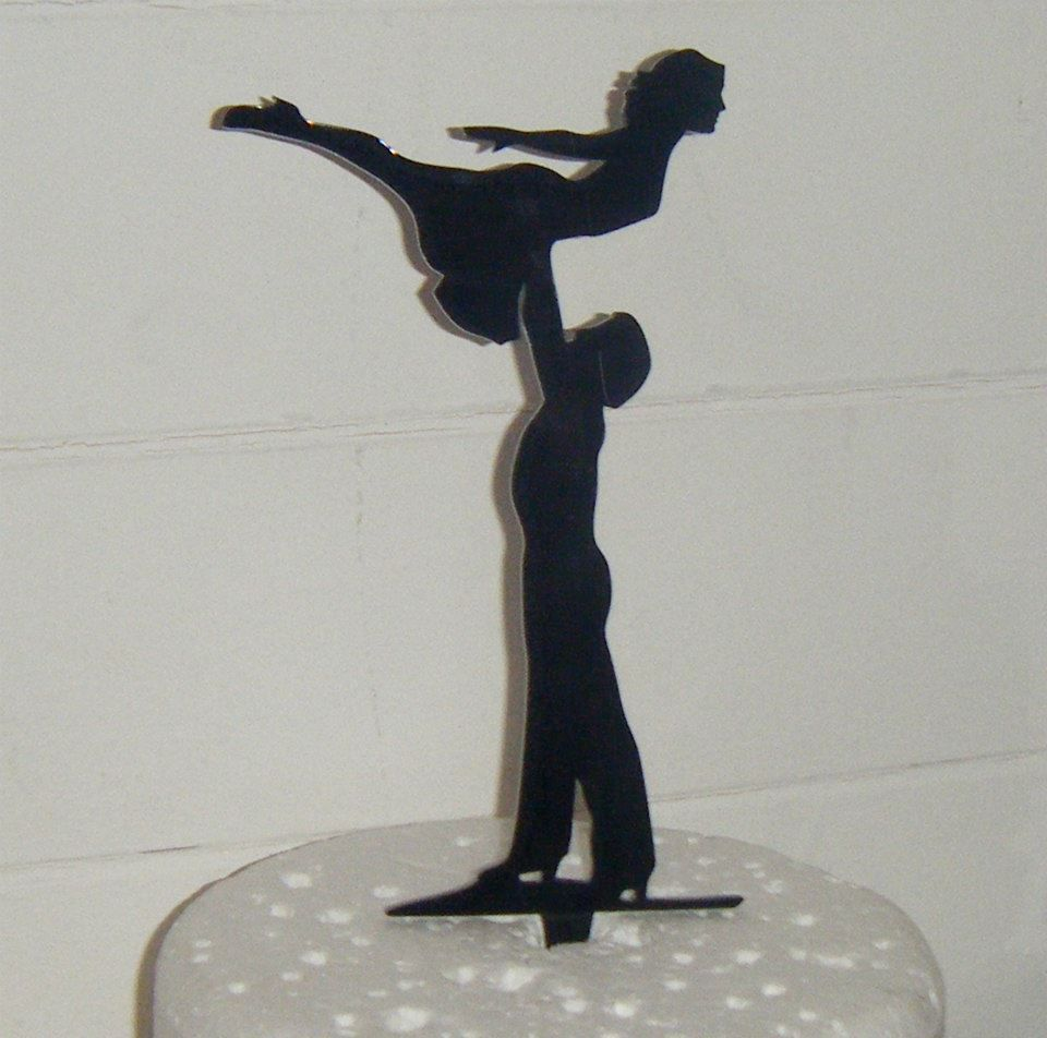 Dirty Dancing Lift Cake Topper