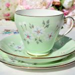 Royal Grafton Studio Craft Teacup Trio C 1957