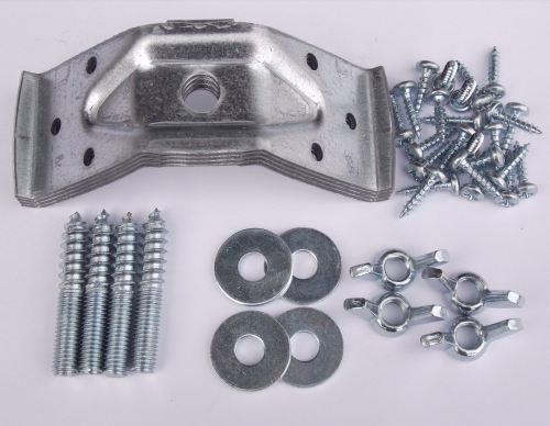 Small 40mm Table Corner Brackets AndFixings Screws Leg