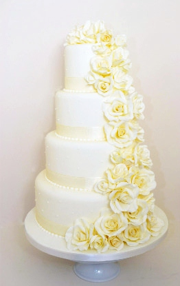 Wedding Cake Prices and Information   Cakes for all Occasions     bristol wedding cakes