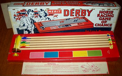 DERBY HORSE RACING GAME OF CHANCE | Game by Merit ...