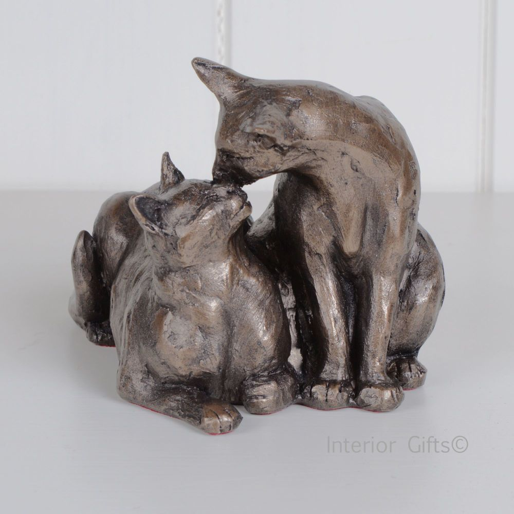 Felix Amp Oscar Frith Sculpture S096 Cats Or Kittens By Paul