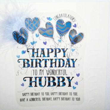 Birthday Card Husband Luxury Boxed Birthday Card To My Wonderful Hubby Husband Birthday Cards Unique Birthday Card For Husband