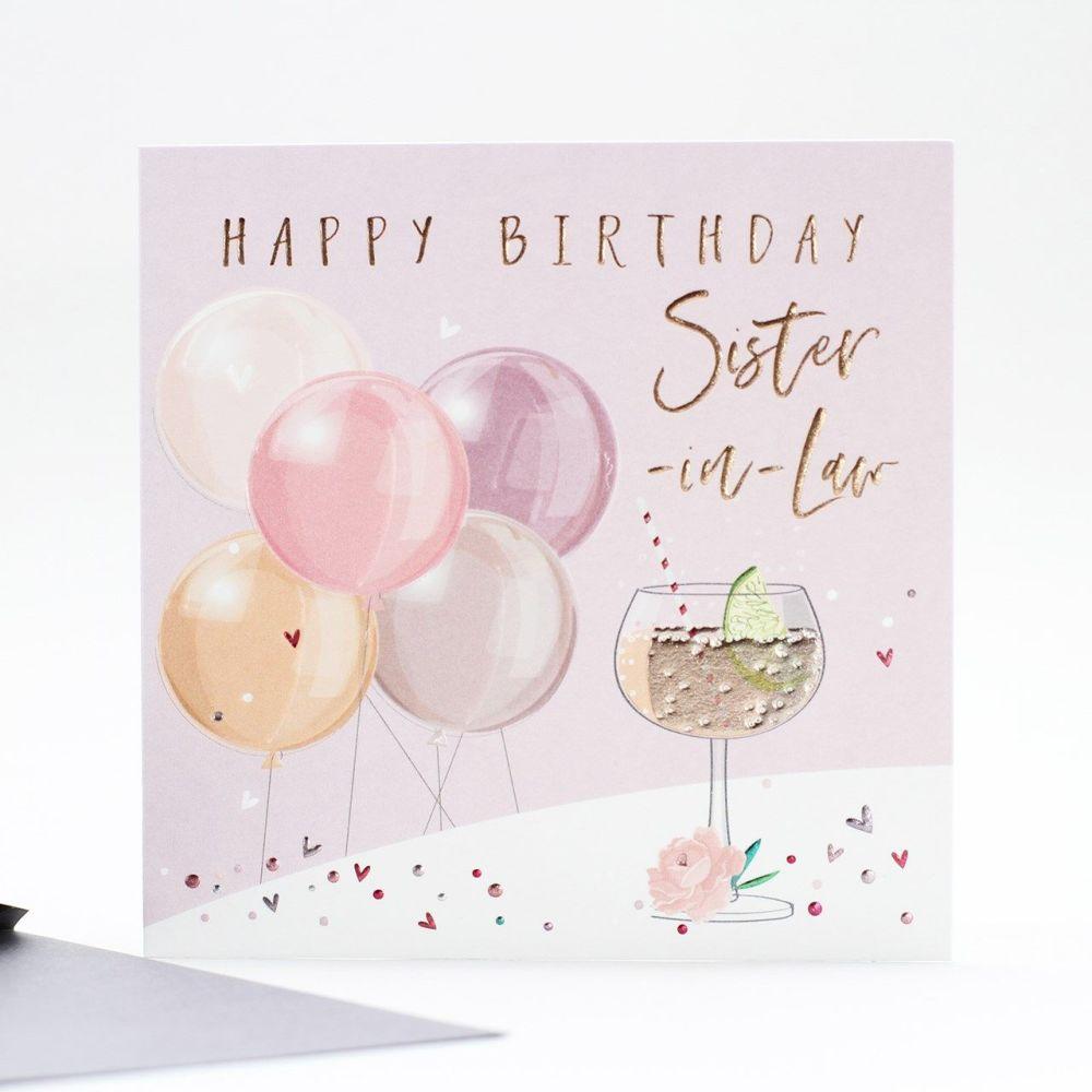 Happy Birthday Sister In Law Card Birthday Cards For Sister In Law Happy Birthday Wishes Card For Sister In Law Sister In Law Cards