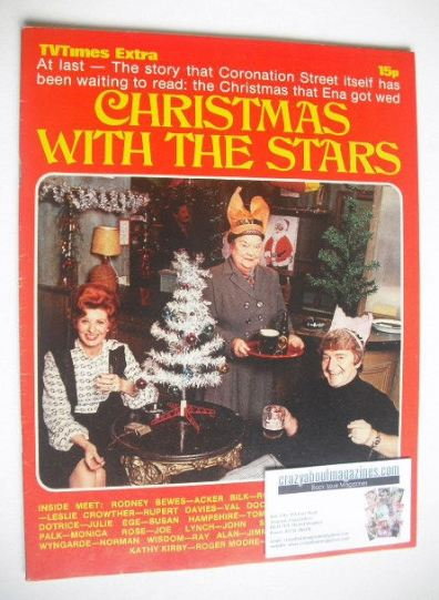 TV Times Extra Magazine Christmas With The Stars Cover