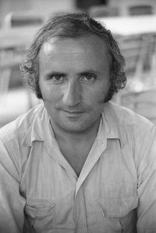 Photo by Mario 'Piccolo' Sillani Djerrahian, Portrait of Richard Demarco, Motovun, June 1975