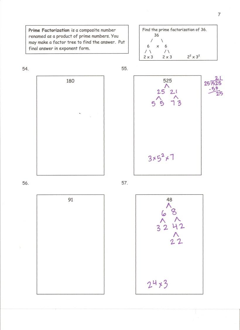 Summer Math Packet Answer Key | Yoktravels com