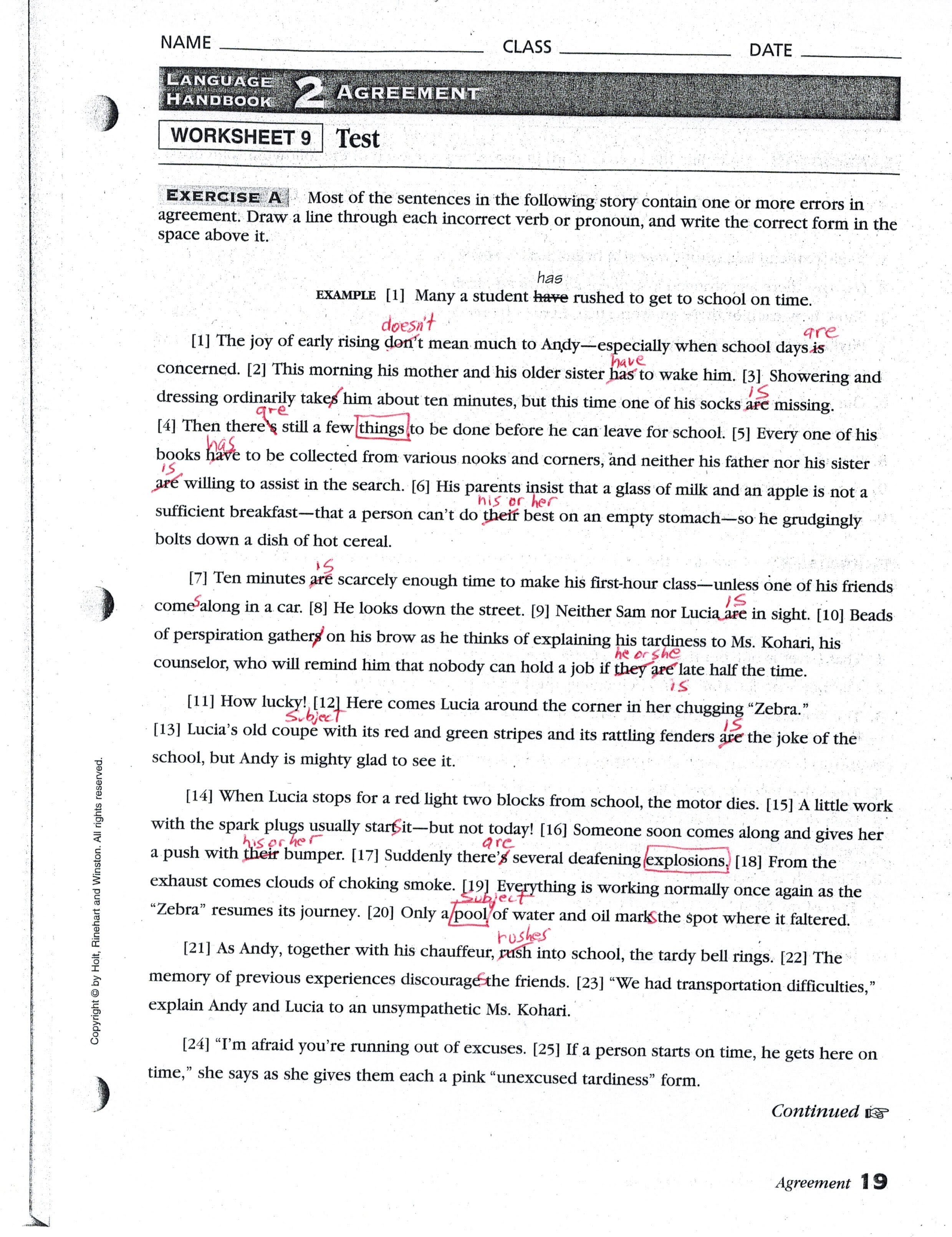 Worksheet Pronoun And Antecedent Worksheet Worksheet Fun Worksheet Study Site