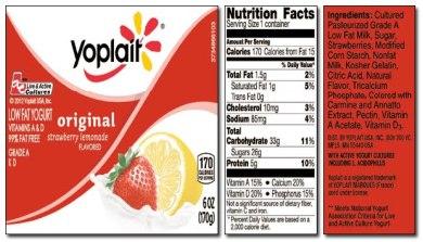 د خوړو لیبل ( Food Label)