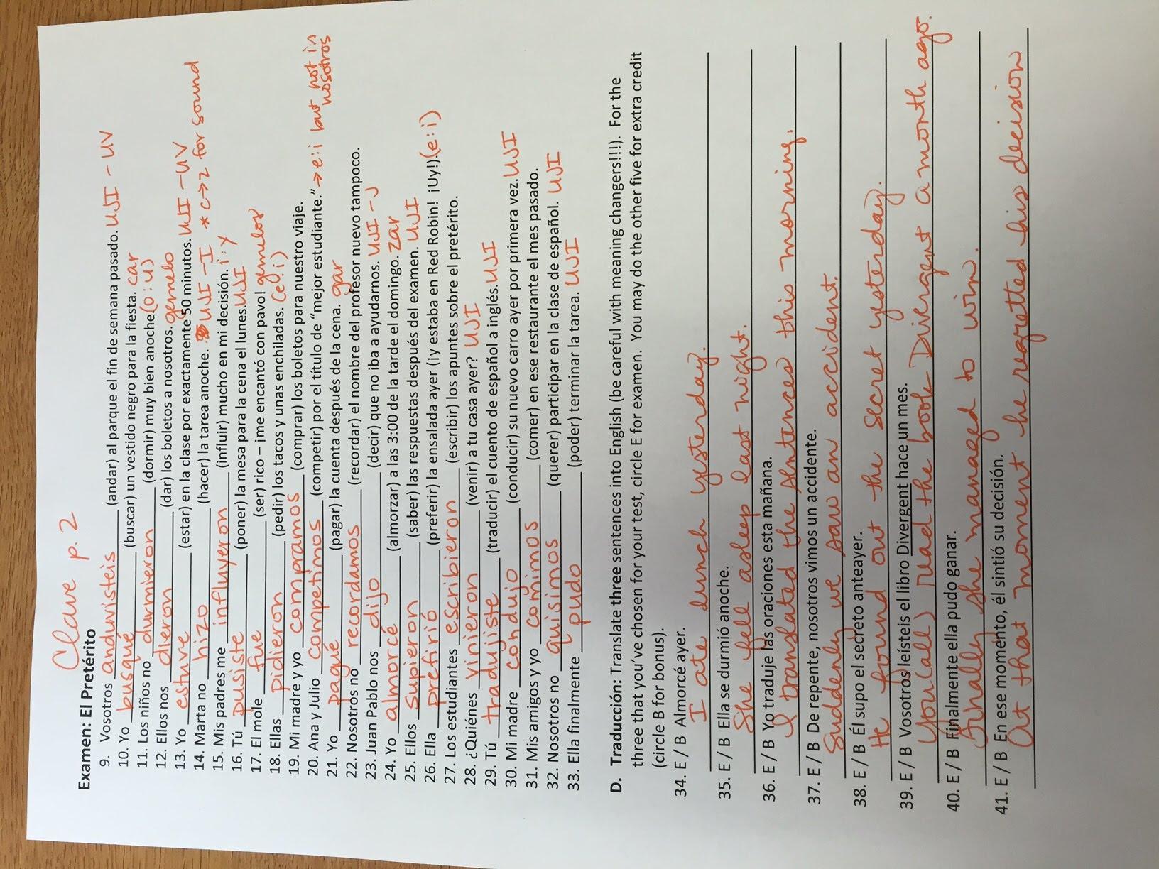 Sp3h Homework Resources
