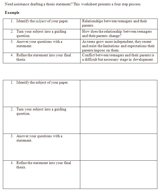Research paper outline builder