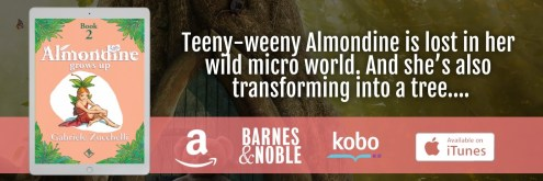Almondine Grows Up tablet