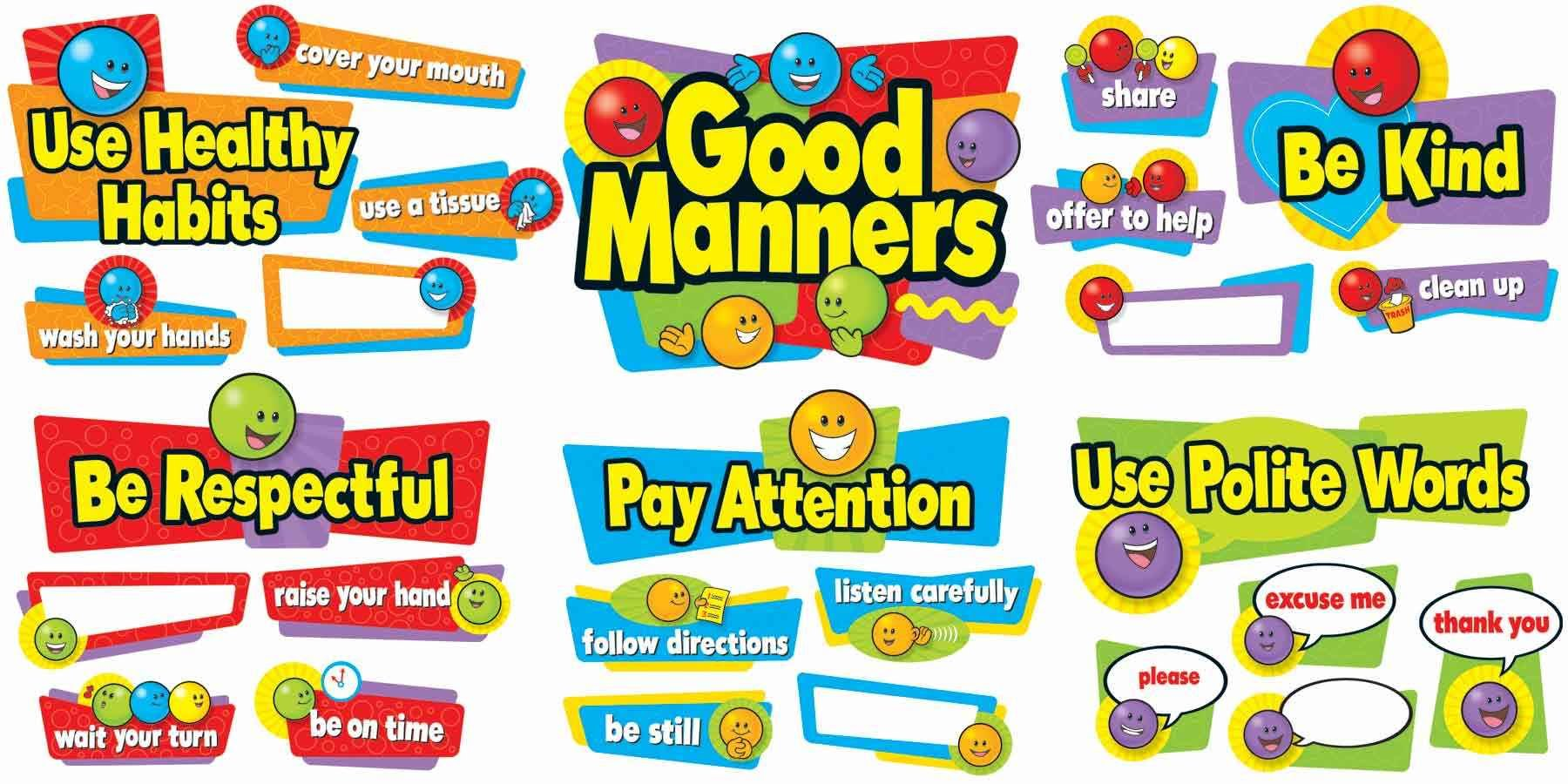 Worksheet On Good Manners