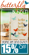 Butterfly Bundle by Stampin Up