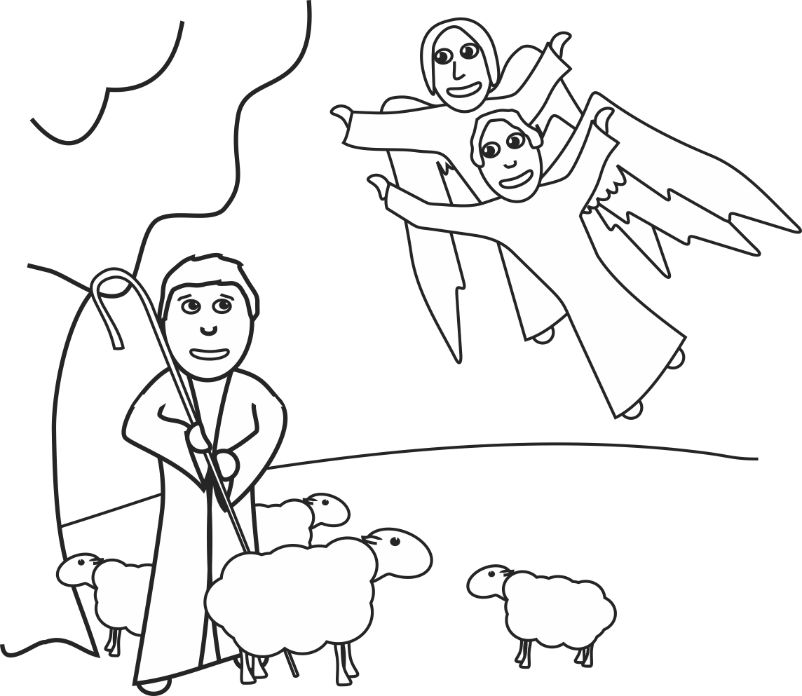 My Children S Curriculum Shepherds And Angels