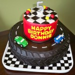 1st Race Car Birthday Cake Novocom Top