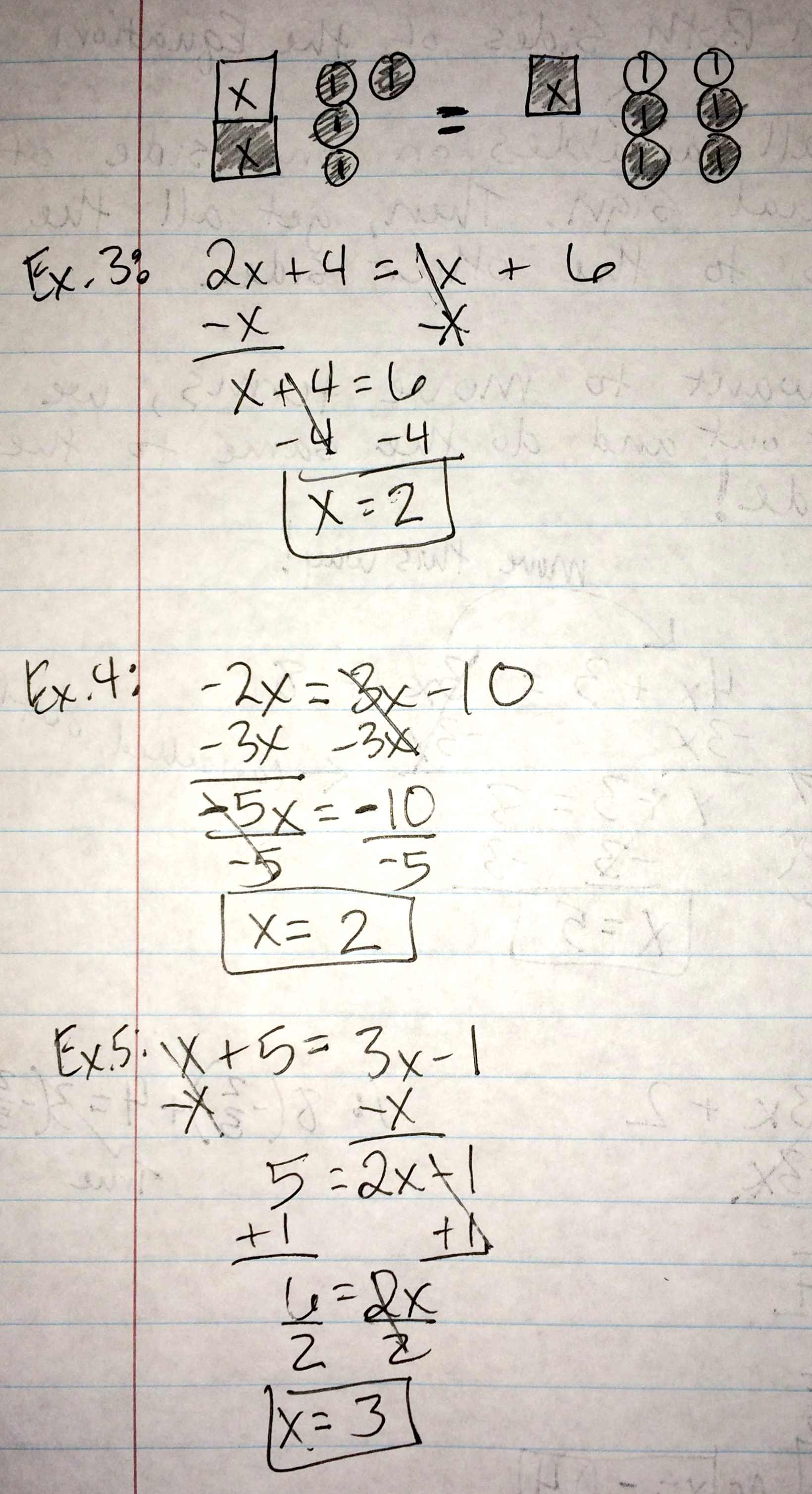 Unit 2 Equations And Inequalities With Variables On Both