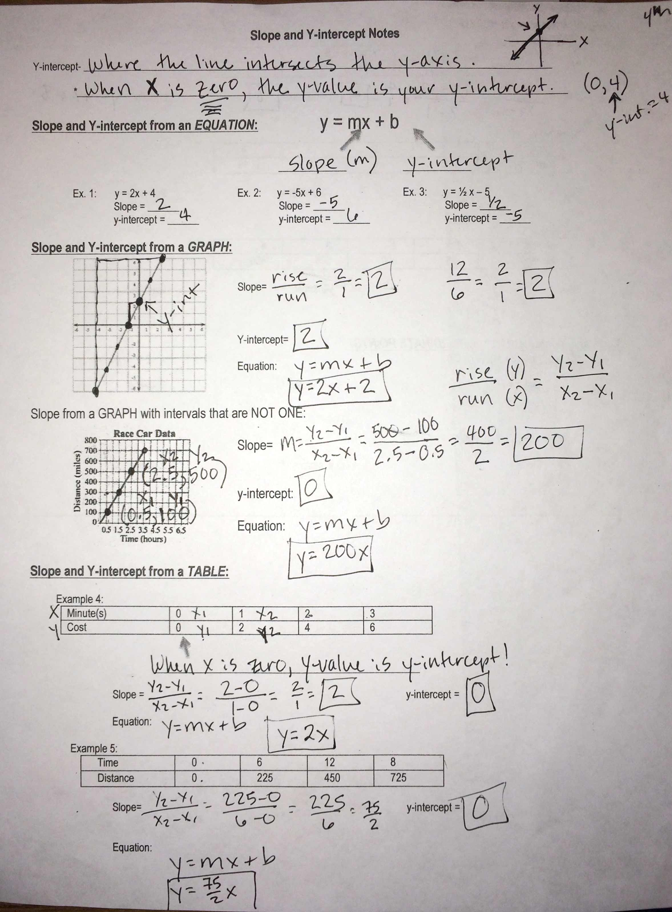 Proportional And Nonproportional Relationships Worksheet