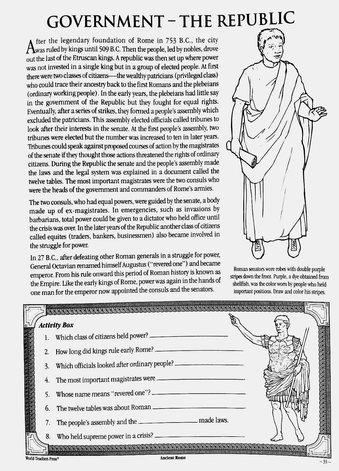Worksheets Ancient Rome Worksheet Cheatslist Free Worksheets For Kids Amp Printable